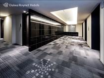 ■客室フロア(エレベーターホール)