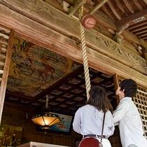 *【城上神社】大森の氏神様が祀られている神社。縁結びの地としても知られています。