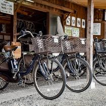 *【レンタサイクル弥七】当館から徒歩約10分。自転車で石見観光をお楽しみください♪