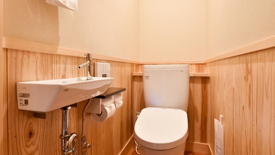*【和洋室スイート】トイレ