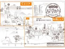 *【観光MAP】石見銀山町歩き全体MAP