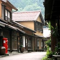 【大森の町並み】江戸時代の武家屋敷など歴史的な建造物や文化財が当時の面影を今も残しています。