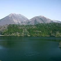 【三瓶山】島根県のほぼ中央に位置する三瓶山は、登山やピクニック、キャンプなどアウトドアの好適地