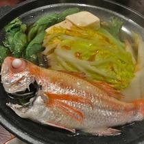 *高級魚として有名な「のどぐろ」。脂の乗った新鮮な一品です。