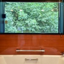 *【デラックスツイン】お風呂からの景色