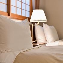 *【デラックスツイン】ベッド