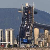 【ベタ踏み坂】まるで中空を切り裂くように延びる激坂が鳥取県と島根県の県境を結ぶ橋