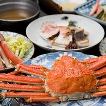 *【ご夕食】島根の味覚『カニ』にこだわった蟹三昧コースをご用意いたしております。