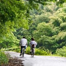 *【石見銀山エリア】自転車を借りて、さぁ観光へ!