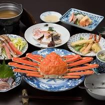 *【ご夕食】漁獲量も多く、新鮮なものが手に入りやすい島根県のズワイガニをご堪能下さいませ。