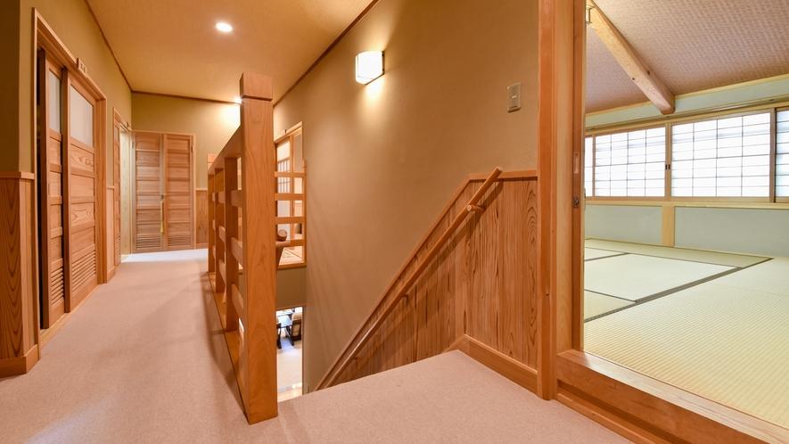 廊下を挟んだ共用部分もまとめて一室としてお使いいただきます。
