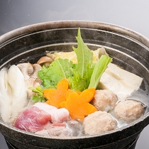 ◆夕食【鴨鍋(期間限定)】