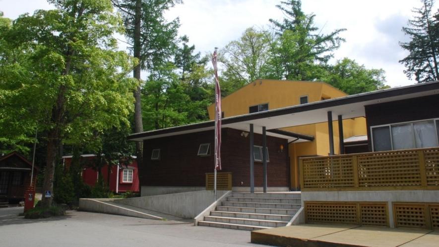 ゲストハウス(宿泊受付フロント)外観