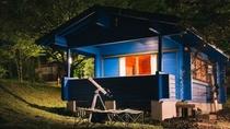 コテージ・星ぞらキャンプスタイル 夜