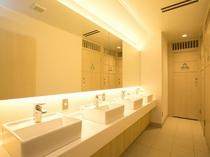 男性専用洗面スペース
