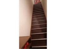 玄関から続く2階への階段