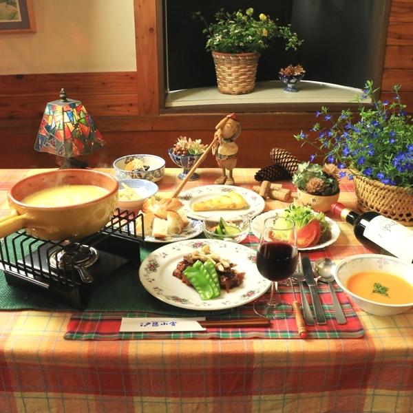 ☆料理_夕食_グレードアップ_全体