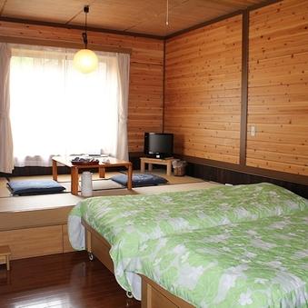 【本館】和洋室(和室4.5畳+ツイン)/バス無し・トイレ付