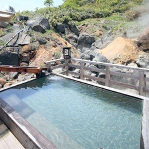 【女性】野天風呂(熊の湯)