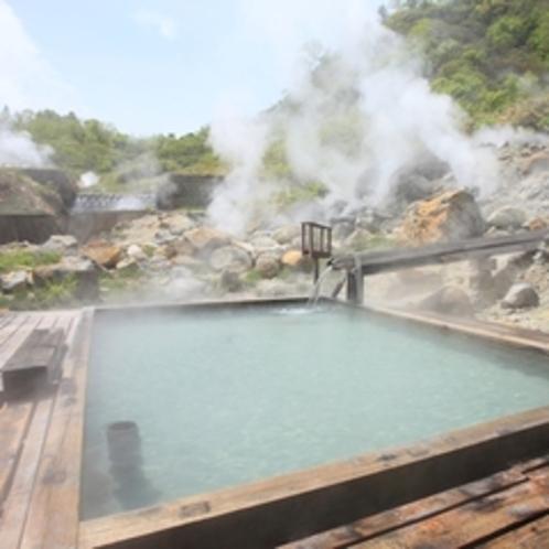 【男性】野天風呂(熊の湯)