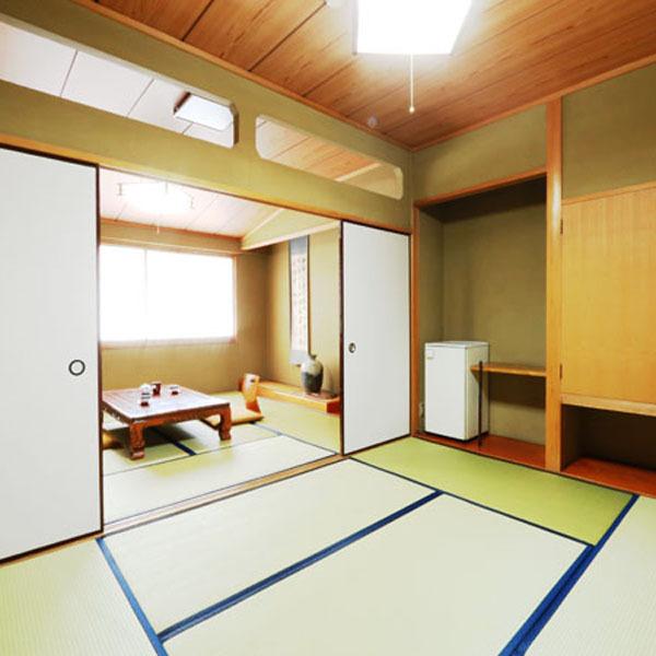 【本館和室】の一例。ご利用人数によりご案内のお部屋をアレンジいたします。
