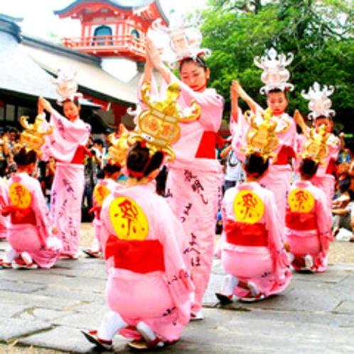 【山鹿灯篭祭り】遥か古代から受け継がれてきた、山鹿最大の夏祭り。