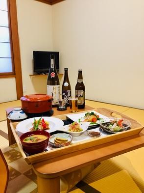 【人気!安心♪お一人様でも、のんびりお部屋でお食事を♪】6.5畳和室/2食付きプラン