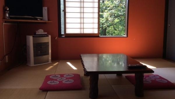 川と緑など大自然に囲まれたお部屋(和室1)