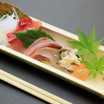 旬のお魚のお造り
