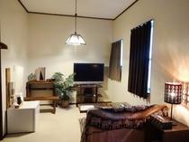 二段ベッドとセミダブルのお部屋☆リビング