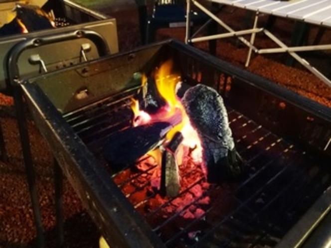 炭火焼で柔らかいお肉を堪能♪