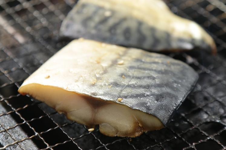 【朝食】お魚は日替わりです