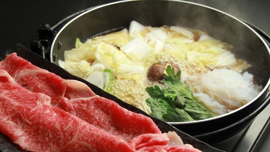 絶品!福島牛のすき焼き