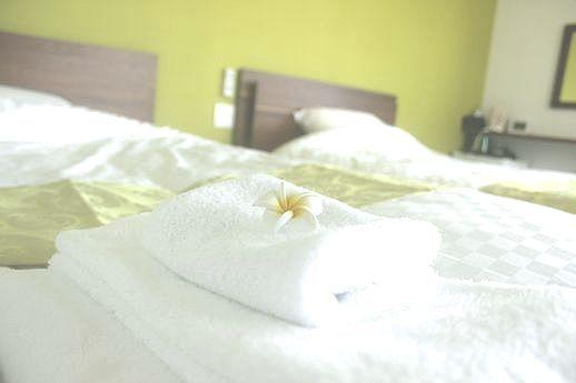 (客室Forest)ゆとりのセミダブルのマットは寝心地重視の純国産品を採用