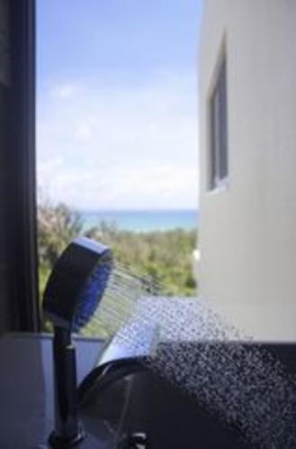 (客室Lagoon)ジャグジーからの眺め