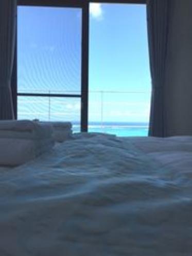 (客室Lagoon)海と山と両方が楽しめる角部屋
