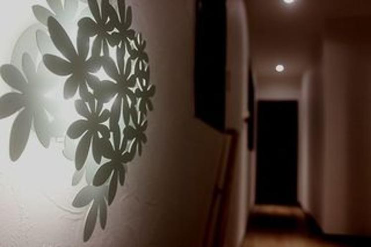 2部屋限定のお部屋へのアプローチ