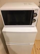 長期滞在に最適な電子レンジと冷蔵庫