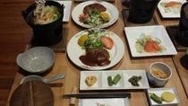 夕食料理例 通常コース1