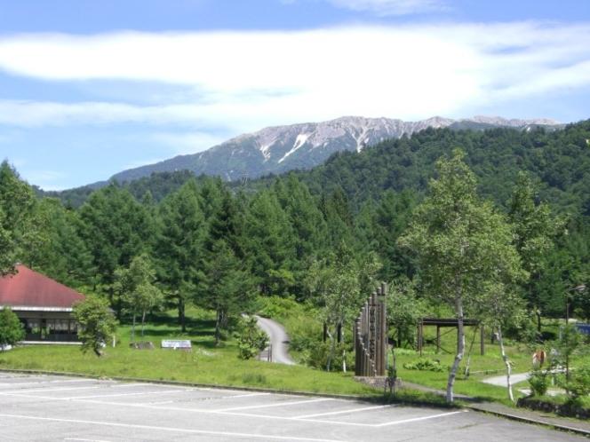 有峰からの薬師岳
