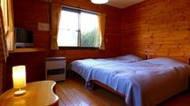 【ツインルーム】明るく清潔感のあるお部屋です