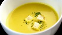 Dinner-片品村産のトウモロコシで作った甘~いコーンスープはリピ確定♪