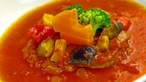 Dinner-群馬県産ブランド豚肉のトマト煮込み