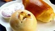パンは手作りの日もあります^^