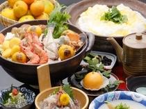 【名物 みかん鍋】