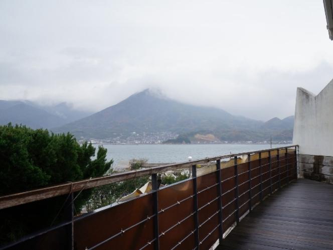 【竜崎温泉】露天風呂からの景色