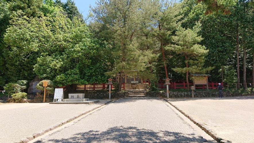 檜原神社まで徒歩30分