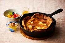 沖縄県産リコッタチーズのダッチパンケーキ