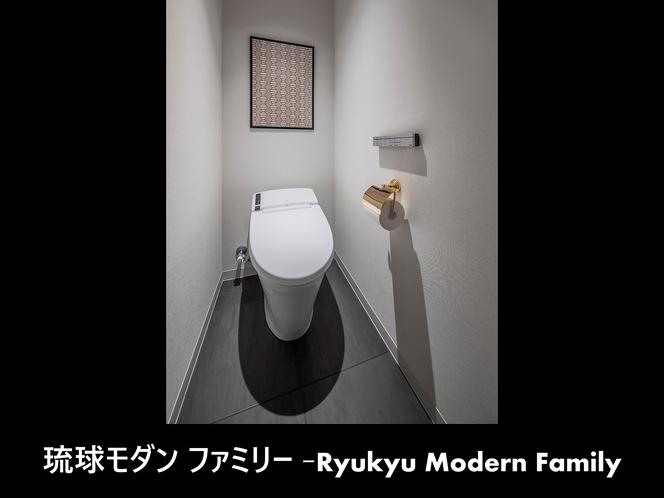 琉球モダンファミリー-化粧室-