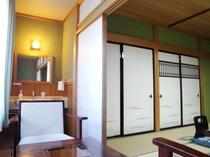 【和室10畳Bタイプ一例】角部屋のため、お子様連れファミリーの方も安心です♪